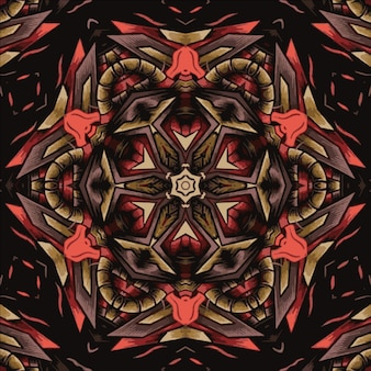 Illustration abstract pattern for textile and design