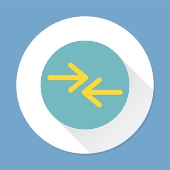 Illustration of an arrow sign