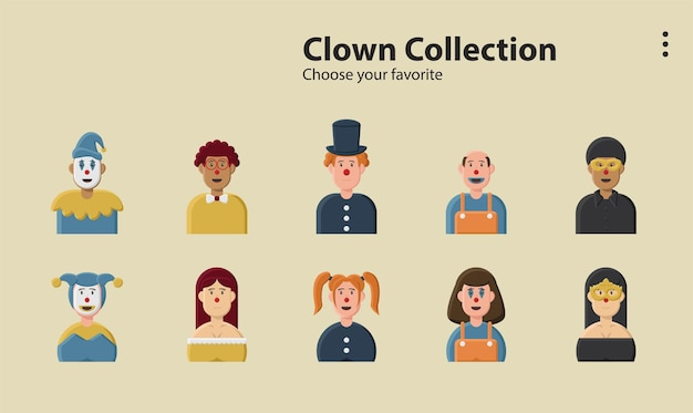 Illustration background character design person vector cartoon icon avatar symbol wallpaper app line