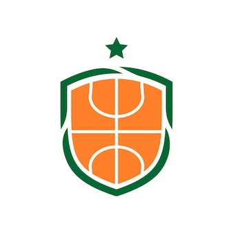 Illustration of a basket ball. good for basket ball team logo or any business related to sport.