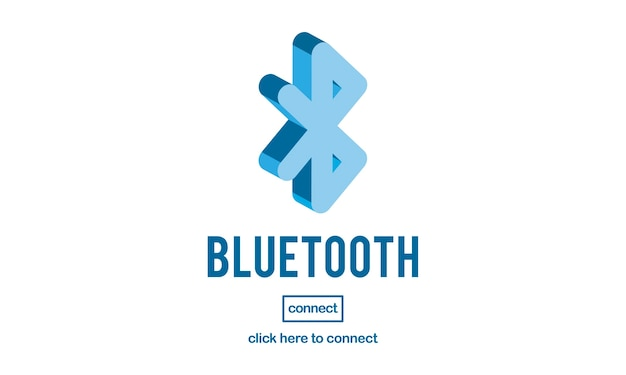 Illustration of bluetooth connection