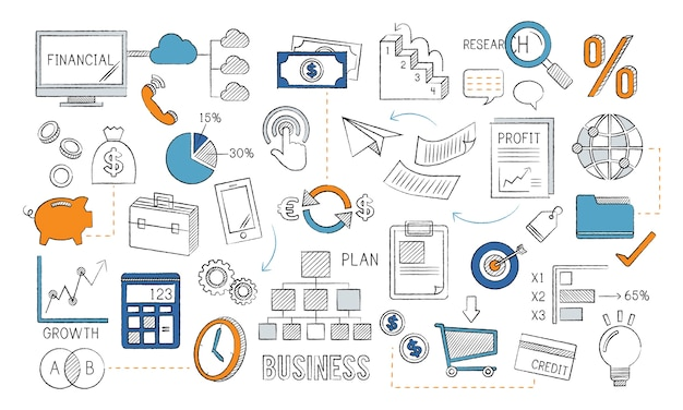 Illustration of business concept
