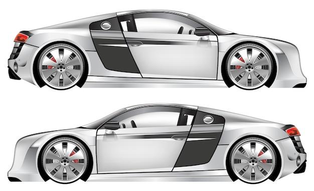 イラスト車のデザイン