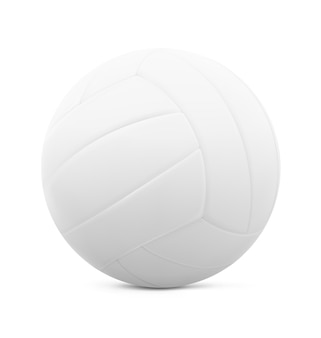 Illustration of a classic leather volleyball.