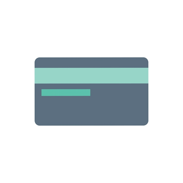 Illustration of credit card icon