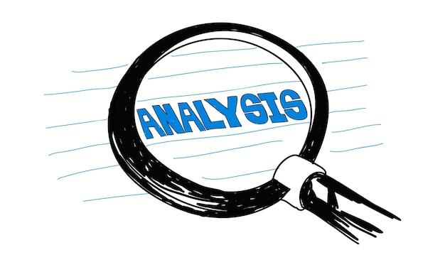 Illustration of data analysis