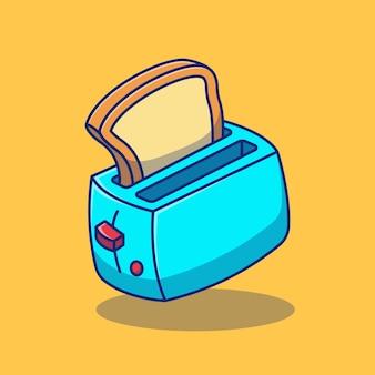 トースターのイラストデザイン