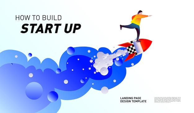 Illustration and design for start up company