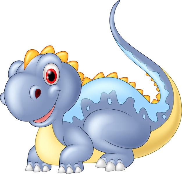 Illustration dinosaur posing
