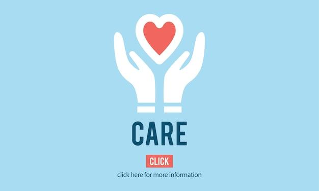 Illustrazione delle icone di supporto di donazione