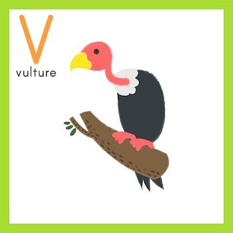 야생 동물의 그림 그리기 스타일 세트