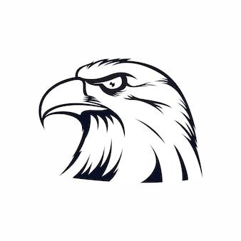Illustration of eagle.