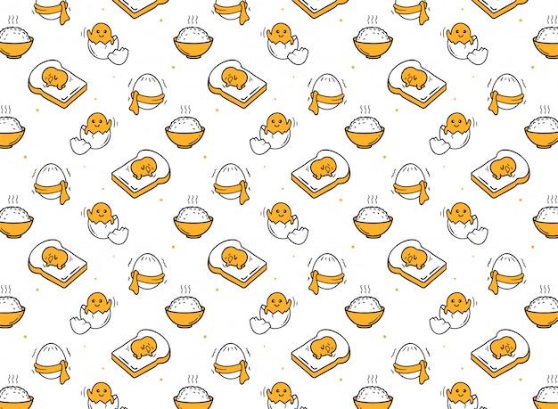 Illustration   of egg pattern