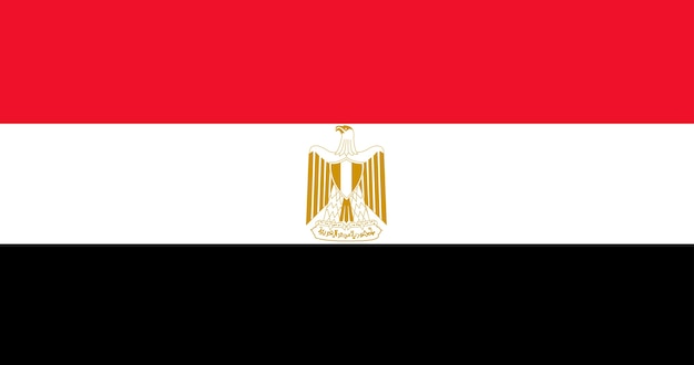 Illustration of egypt flag