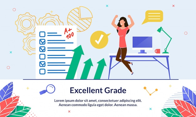 Illustration excellent grade