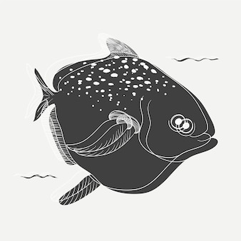 Illustration of a fish