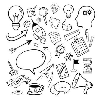 Illustration  graphic of ideas element