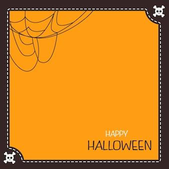 Illustration happy halloween day