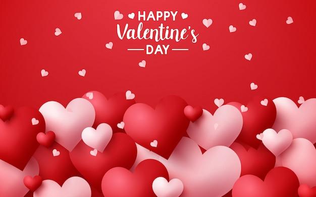 Illustration of happy valentine's day