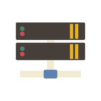 Illustration of lan network