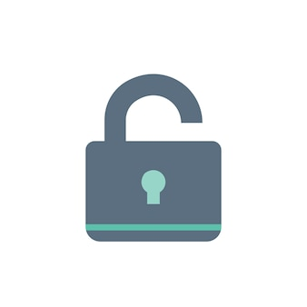 Illustration of lock icon