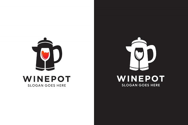 Illustration of logo template for shop or healthy lifestyle