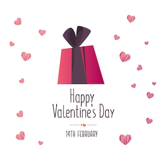 Illustration of love and valentine day.