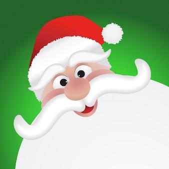 Illustration of lovely santa