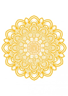 Illustration of mandala art