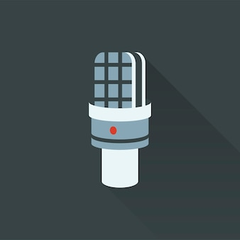 Illustration of microphone icon