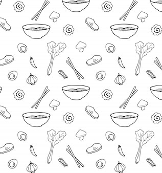 Illustration   of mie pattern