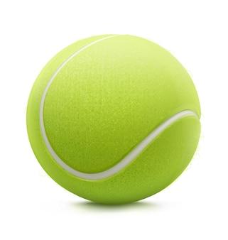 Иллюстрация классического теннисного мяча