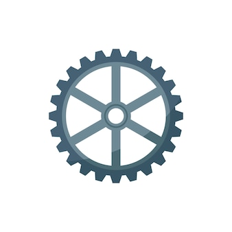 Illustration of a cogwheel