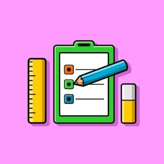 직업 테스트 및 문구의 그림