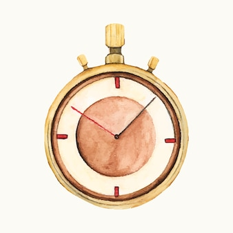 Illustration of a stop watch