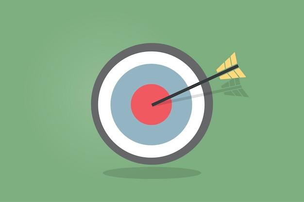Иллюстрация значка цели