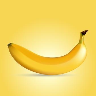 Illustration of a yellow banana