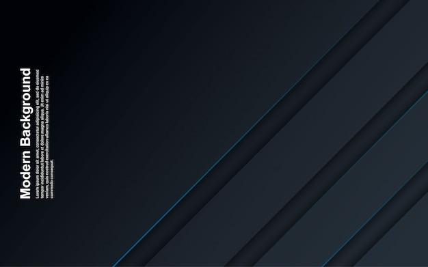 파란색 선으로 추상적 인 배경 검은 색과 파란색의 그림