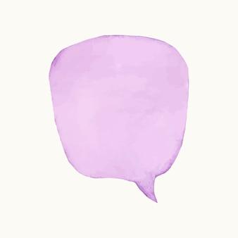 Иллюстрация пустой красочный пузырь речи