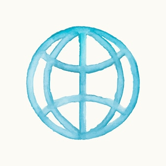 Illustration of an internet symbol