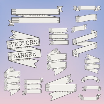 Illustration of banners