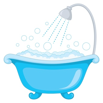 Illustration Of Bathtub