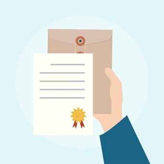 Иллюстрация концепции бизнес-соглашения
