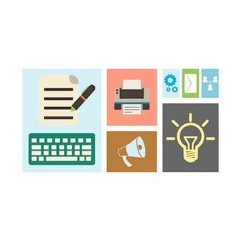 사업 개념의 삽화