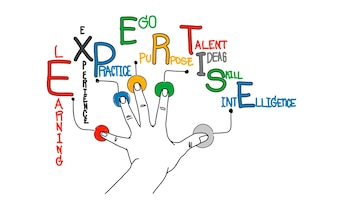 Illustration of business expertise