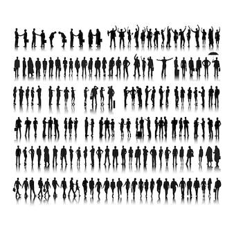 사업 사람들의 그림