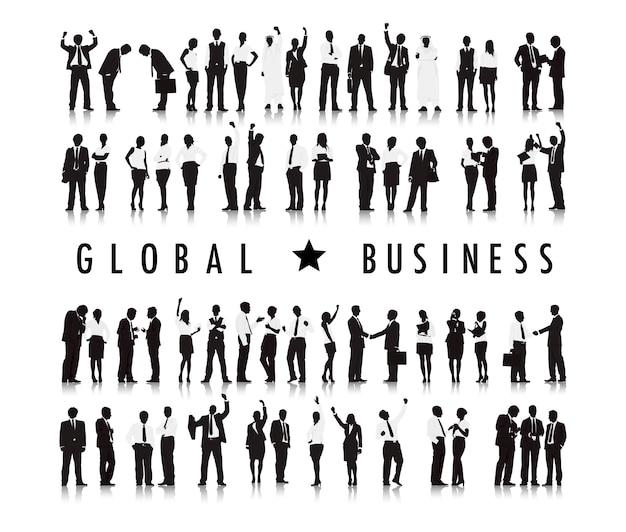 Иллюстрация деловых людей