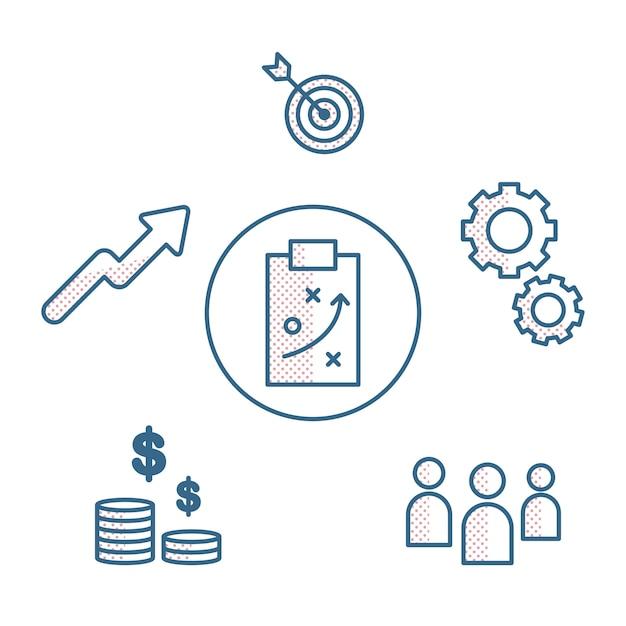 사업 계획의 삽화