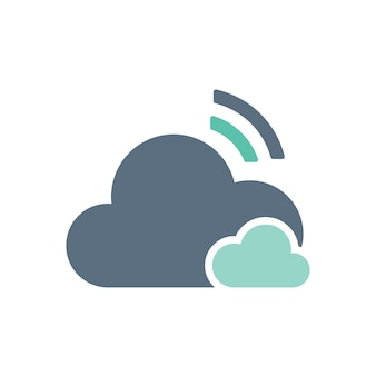 Illustration of cloud storage
