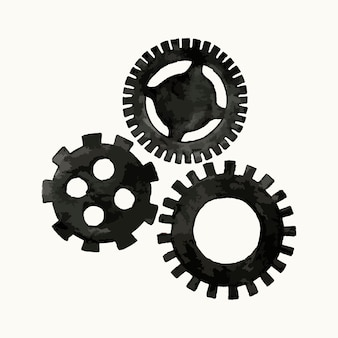 Illustration of cogs and gears